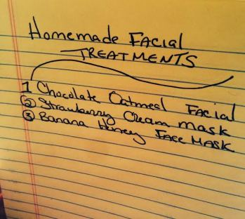 Homemade Facial Treatments that are UHMAZING.